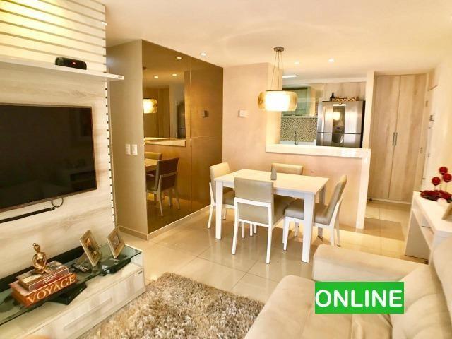 Apartamento no San Gabriel em Messejana todo projetado