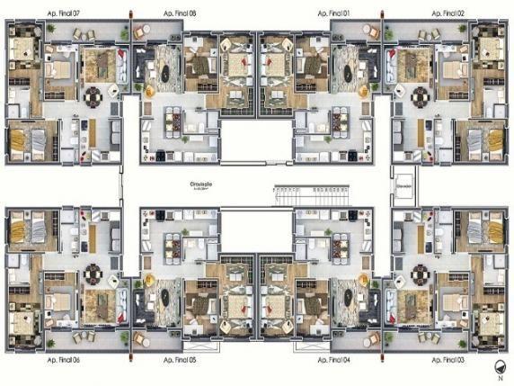Apartamento residencial à venda, canudos, novo hamburgo - ap0070. - Foto 5