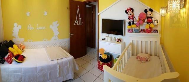 Vendo apartamento no Condomínio Lual de Ponta Negra 56m² 2/4 sendo uma suite, andar alto - Foto 5