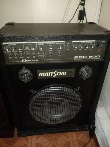Caixa de som watt som pcr 500