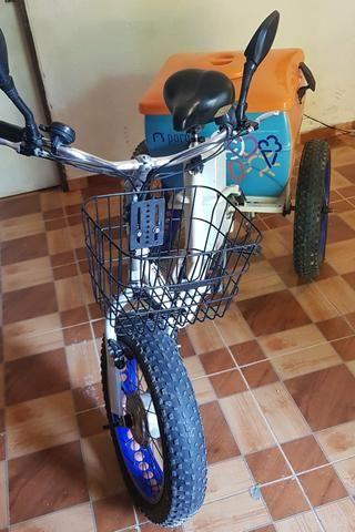 Triciclo Motorizado Elétrico Magias Italiana