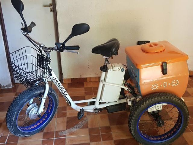 Triciclo Motorizado Elétrico Magias Italiana - Foto 3