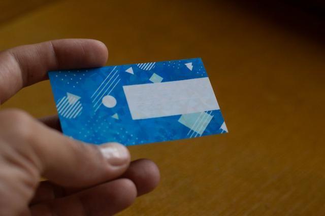Cartão de Visita Laminação Holográfica - Foto 2