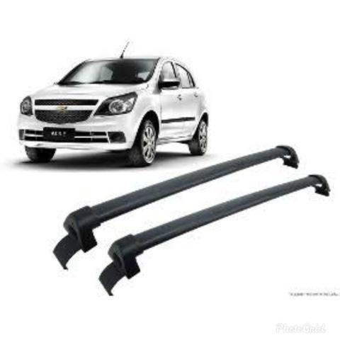 Rack bagageiro aluminio Chevrolet Agile