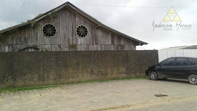 Galpão à venda, 900 m² por r$ 1.500.000,00 - são cristóvão - barra velha/sc