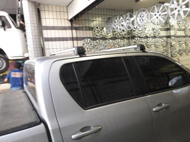 Rack bagageiro Toyota Hilux - Foto 5
