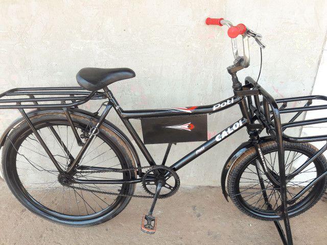 Vendo essa linda bicicleta cargueira 350 entrego.  - Foto 4