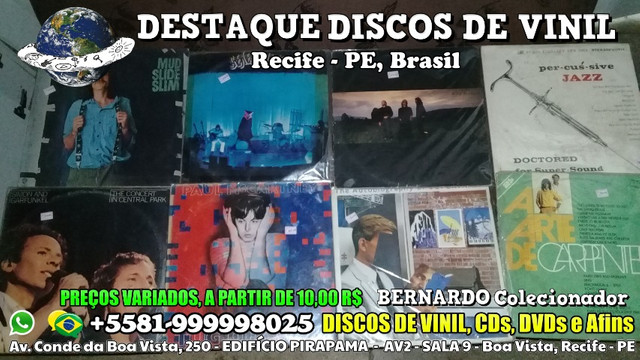 Destaque Discos de Vinil, CDs e DVDs - Boa Vista, Recife PE - Foto 2