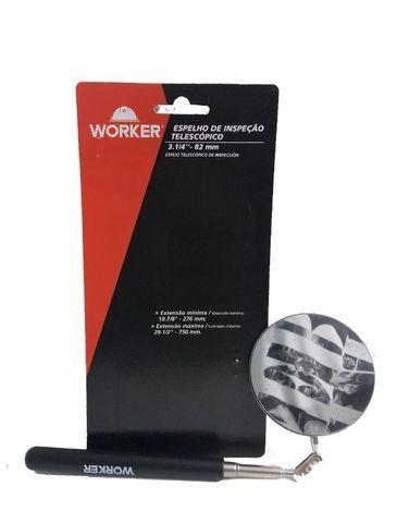 Espelho Telescópico De Inspeção 3.1/4 -82mm Worker