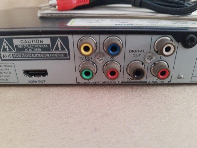 Dvd Philips Dvp3980kx/78 com Karaokê (Tudo funcionando) - Foto 5