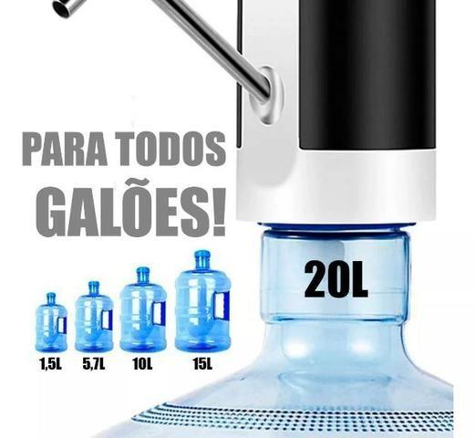 Bomba D'água Galão Inteligente Sem Fio Portátil 5l 10l 20l pronta entrega - Foto 3
