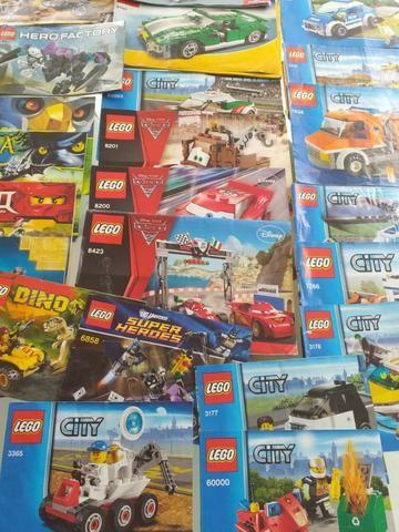 Legos vários tipos Movie,City,Creator em perfeito estado manuais - Foto 6