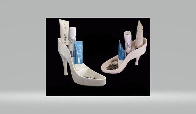 Sapato porta maquiagem e acessórios - Foto 6