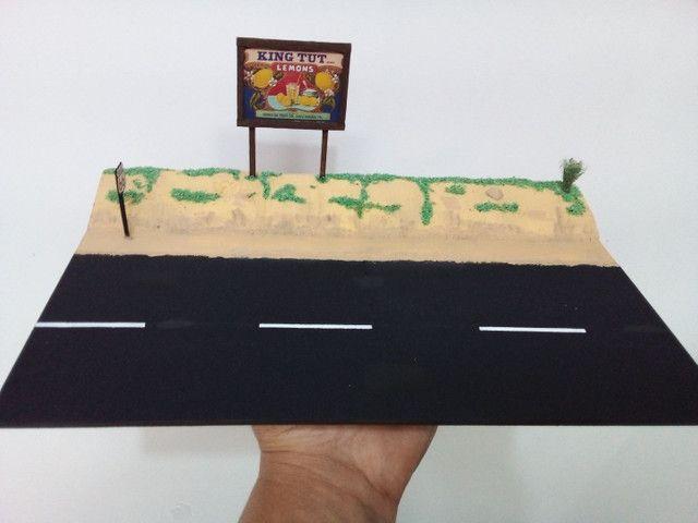 Diorama escala 1.64 estrada! - Foto 5