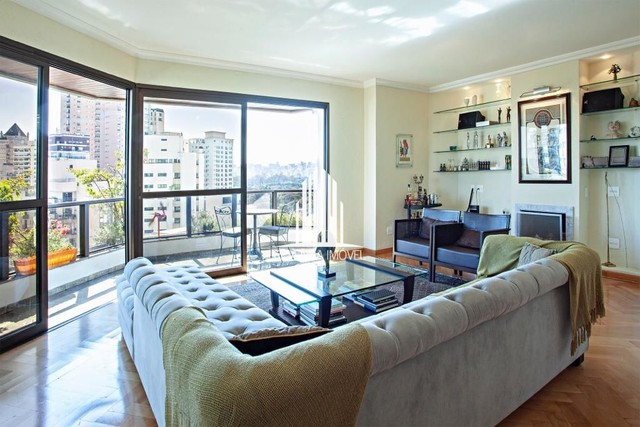 Apartamento para locação de 247m², 4 dormitórios em Moema - Foto 4