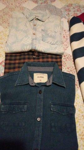 Lindo kit de camisas 12 - Foto 3