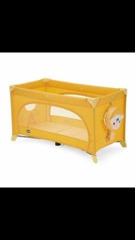 Berço Portátil Easy Sleep Amarelo Chicco