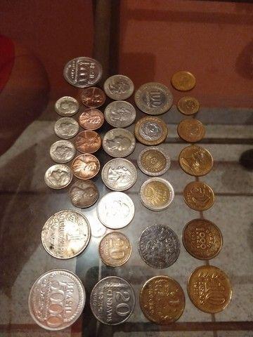 Vendo moedas antigas e de outros países  - Foto 2