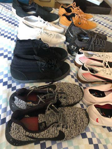 Calçados usados em bom e ótimo estado