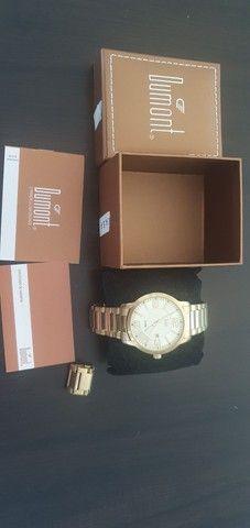 Relógio dourado - Foto 4