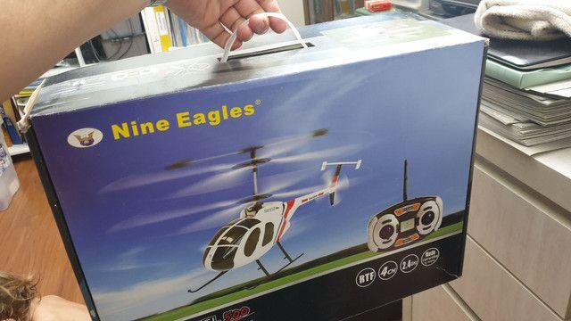 Helicóptero controle remoto 4 canais Nine Eagles Kestrel 500 4 canais - Foto 2