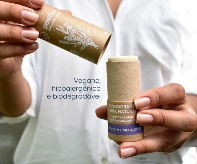 Desodorante 100% Natural Ecológico e Vegano Unissex - Foto 4