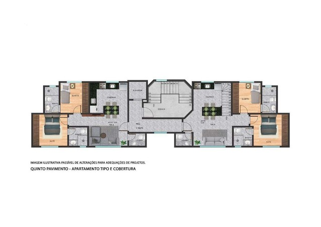 Apartamento à venda com 2 dormitórios em Serra, Belo horizonte cod:701027 - Foto 4