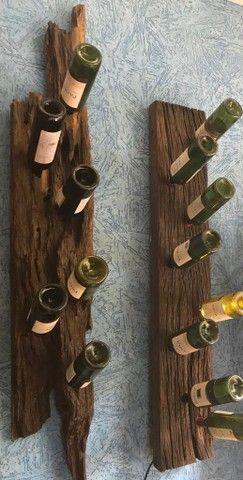 Garrafeiros, suportes para garrafa e taças - Foto 3