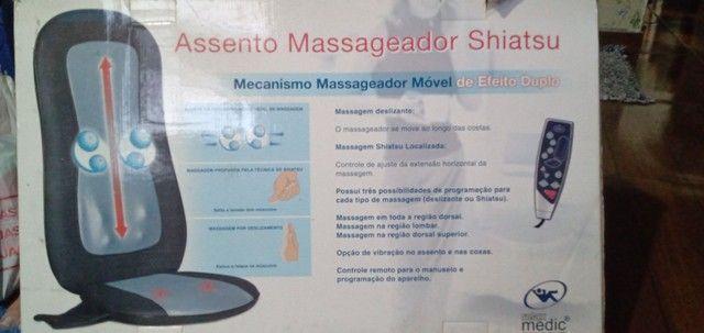 Assento Massageador Shiatsu Relax Medic - Foto 2