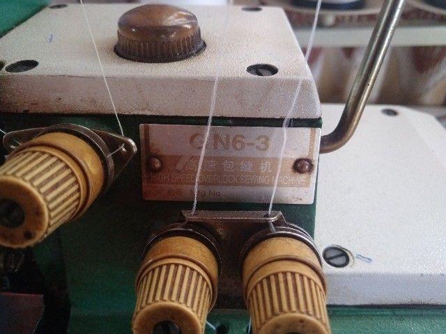 Máquina de Costura Yamata Overlock GN6-3 R$ 1.000,00 P/ Buscar - Foto 4