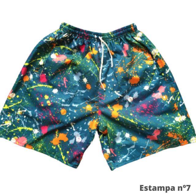 Kit 3 Shorts Masculino Mauricinho Verão Revenda - Foto 4