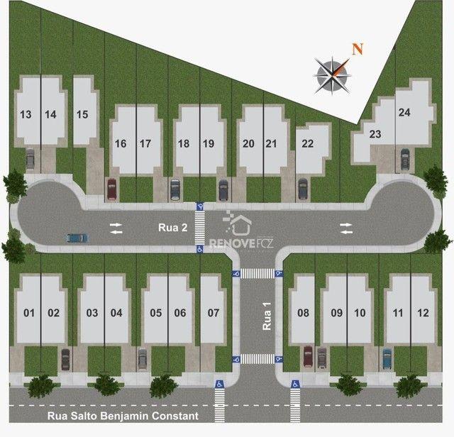 Casa com 2 dormitórios à venda, 53 m² por R$ 200.000,00 - Loteamento Comercial e Residenci - Foto 6
