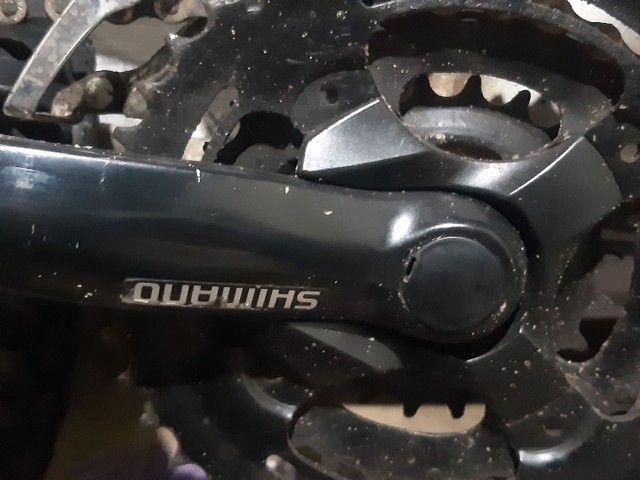 Bicicleta gios xc3 aro 26 quadro 16 toda Shimano  - Foto 4