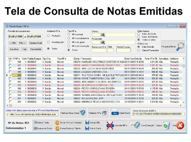 Software Emissor de notas fiscais para empresas em geral. Caixa, Estoque, Financeiro - Foto 3
