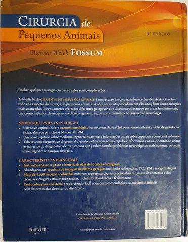 Livro Cirurgia de Pequenos Animais - Fossum - 4ª Edição - Foto 2