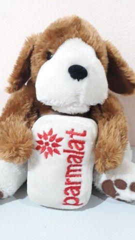 Cachorro de pelúcia da coleção Mamíferos da Parmalat antigo - Foto 2