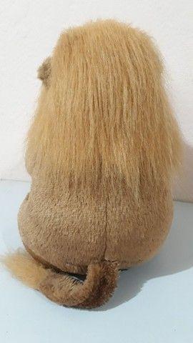 Pelúcia Leão antiga da coleção mamíferos da Parmalat  - Foto 5
