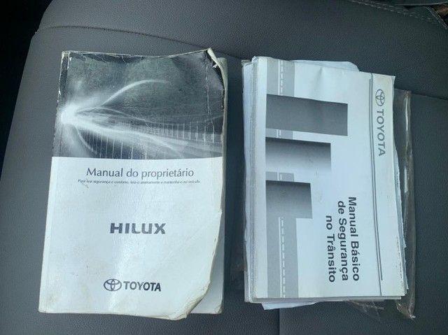 Hilux - 2013 - Srv - Blindada nível 3 - Vidros em Gel - Diesel - Foto 10