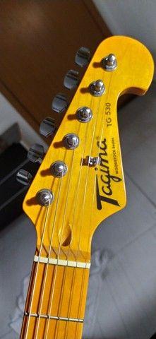 Guitarra Stratocaster Tagima TG-530 Woodstock - Foto 2