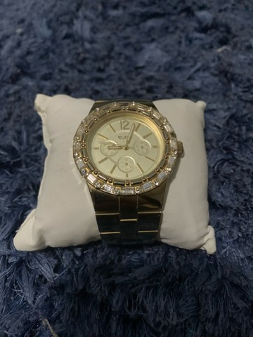 Relógio EURO folheado a ouro  - Foto 4