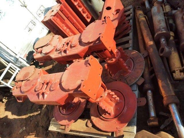 Rolo picador e mesa do giro  e corte de base Case 8800 - Foto 2