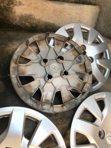 Jogo calotas originais Ford ka hatch aro 14 - Foto 6