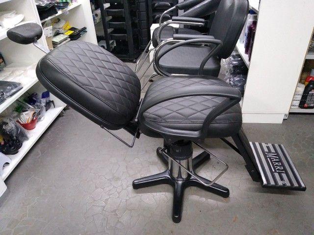 Cadeira para barbeiro reclinável - Foto 2