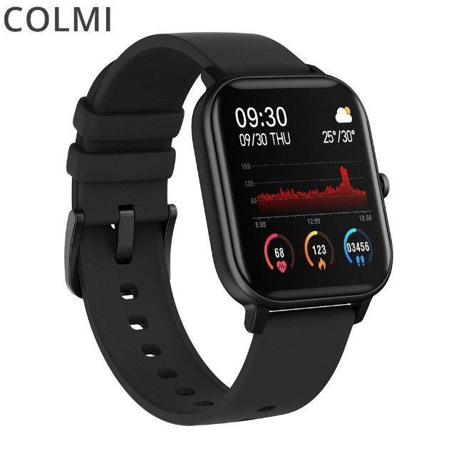 Smartwatch Colmi P8 - novo lacrado, original - Foto 2