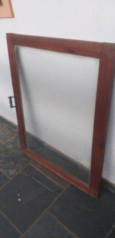 Janela de correr(valor das 2) ou quadro decorativo rustico