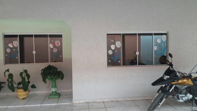 Vd/ tr casa de 4 qts, suíte em lote de 700 mts no Setor de Mansões de Sobradinho - Foto 2