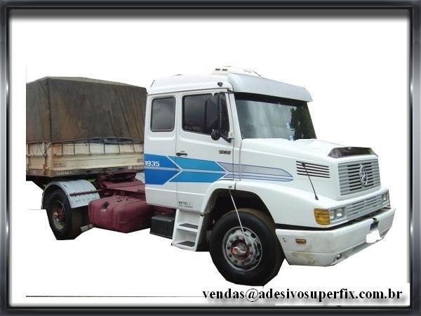 adesivos caminhão mercedes 1935 38 1618 20 peças e acessórios cj