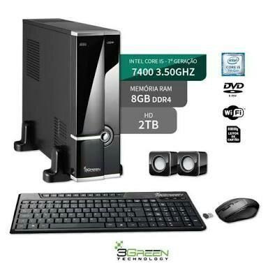 (Novos E usados) Computadores Gamers - Para escritório - Simples parcelados em ate 12x
