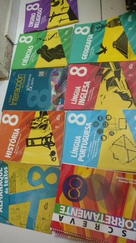 Livros colegio Adventista 8 Ano