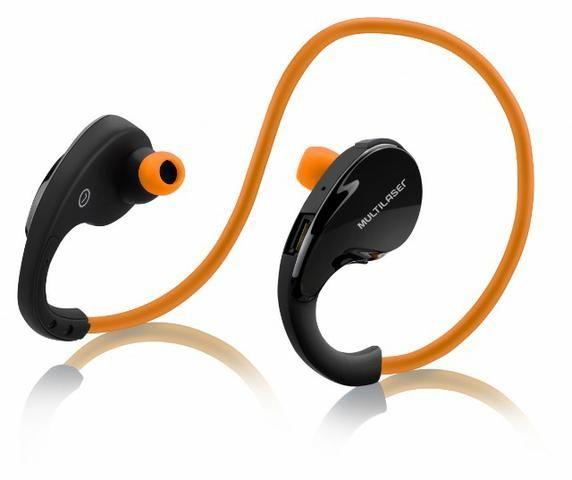 Fone de Ouvido Arco Sport Bluetooth Laranja Multilaser PH185